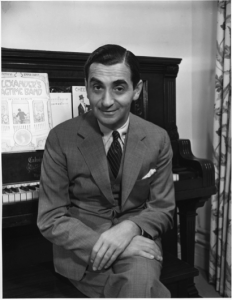 Irving Berlin at his piano